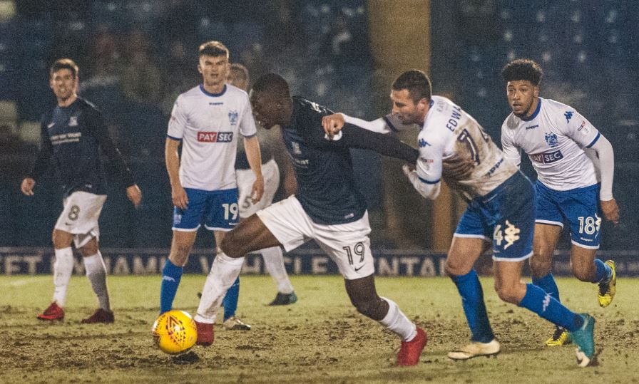 Looking to make a breakthrough - Southend United striker Freddie Ladapo