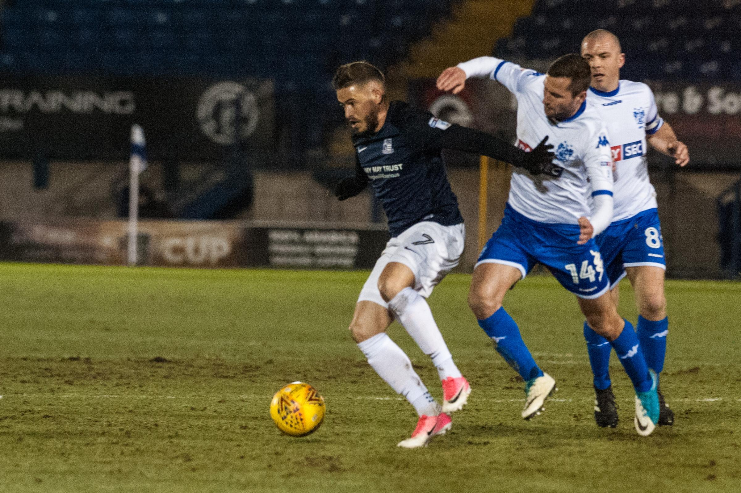 Injured - Southend United winger Michael Kightly