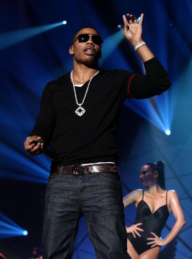 Rap star Nelly