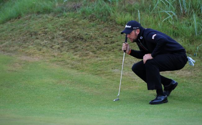 Costly final round - Matt Southgate fell from top spot in Oman
