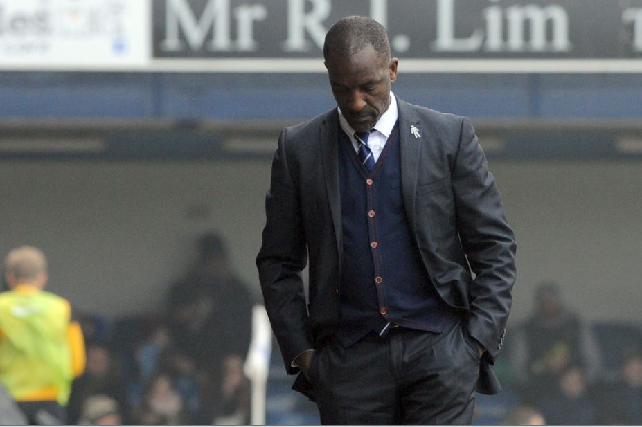 Disappointed - Southend United manager Chris Powell