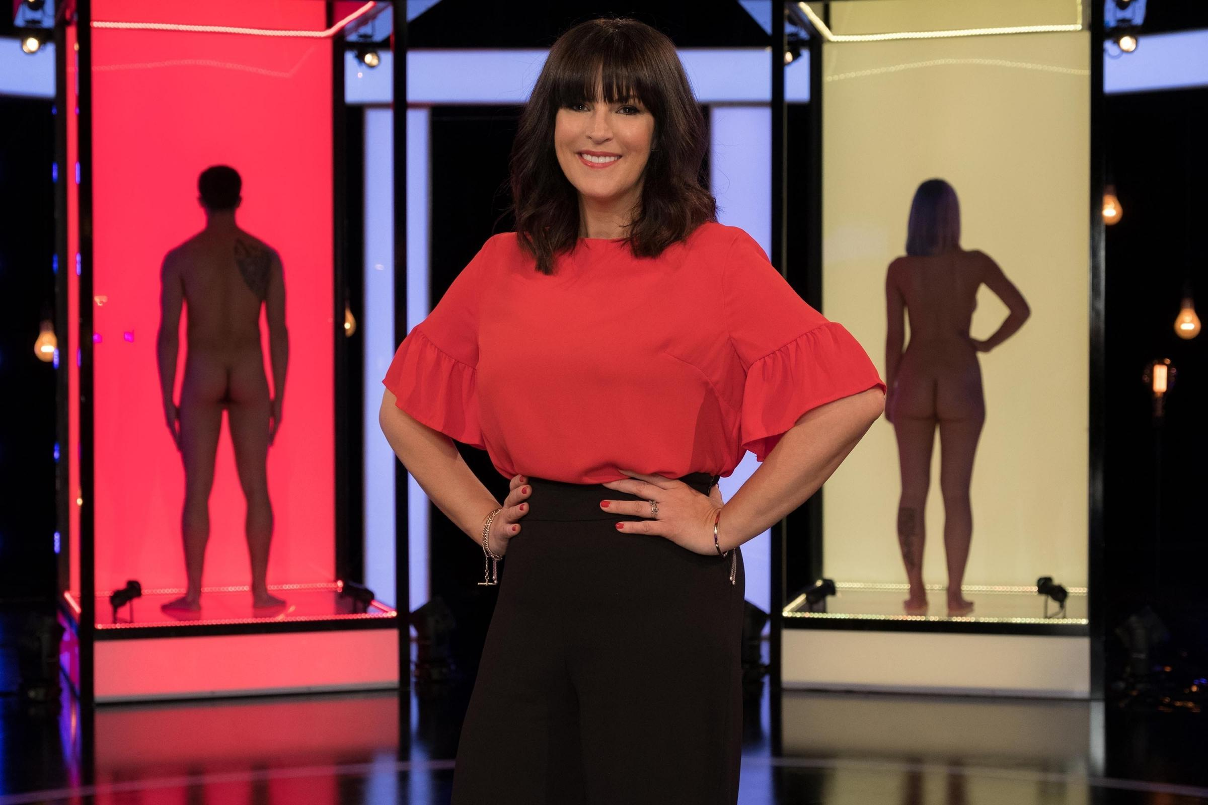 Presenter Anna Richardson. Picture: PA Photo/Channel 4