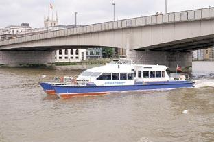 taxi boats already run on the Thames in London