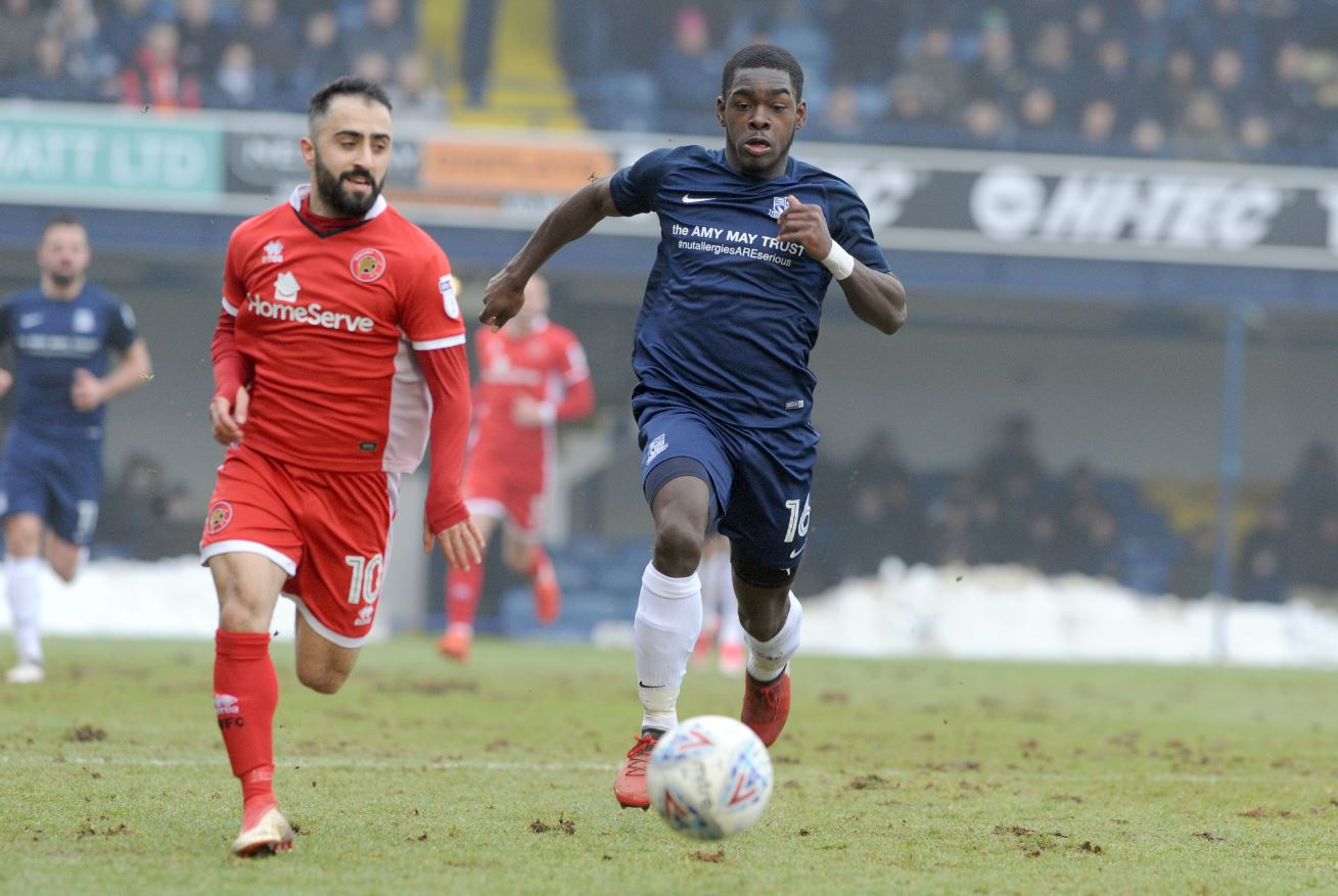 Eager to get back on track - Southend United midfielder Dru Yearwood