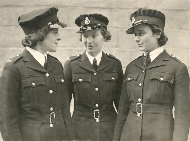 Some of the first female police officers with Essex Police