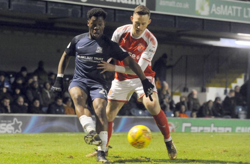 Heading out on loan - Southend United striker Norman Wabo