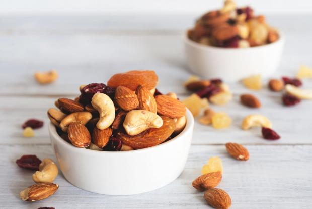 Echo: A generic photo of mixed nuts in a bowl. See PA Feature TOPICAL Health Energy Foods. Picture credit should read: PA Photo/thinkstockphotos. WARNING: This picture must only be used to accompany PA Feature TOPICAL Health Energy Foods.