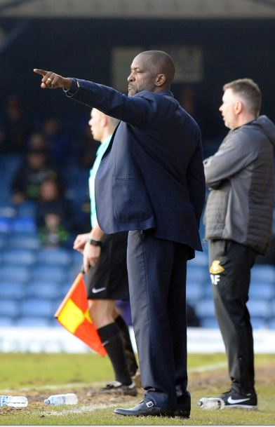 Pleased with the response of his side - Blues boss Chris Powell