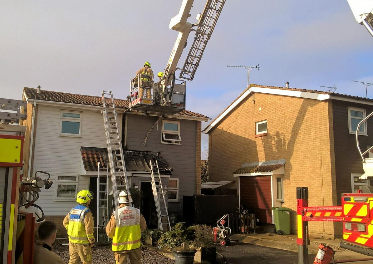 Fuse Box Sparks Fire At Two Homes Echo