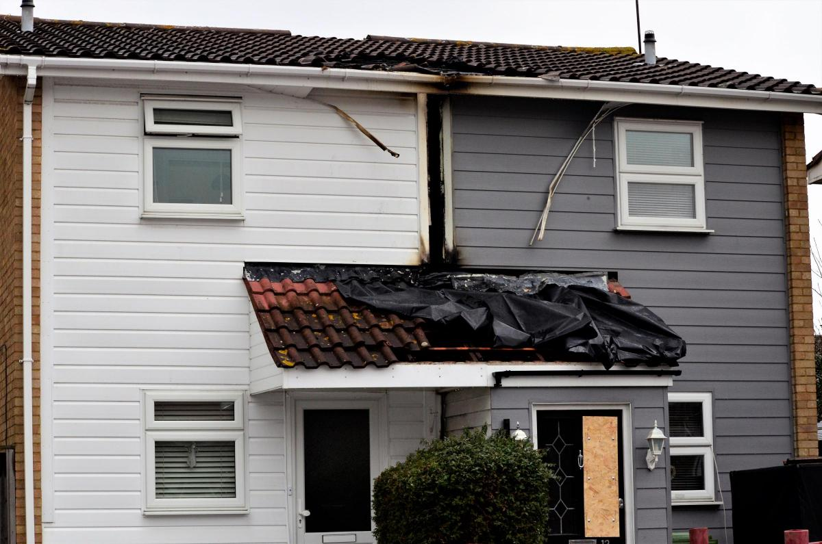 Fuse box sparks fire at two homes