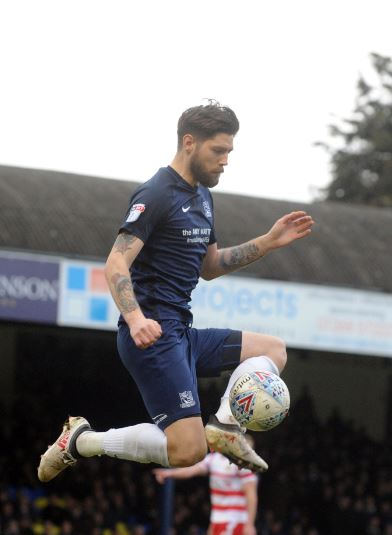 Back in action - Southend United midfielder Anthony Wordsworth