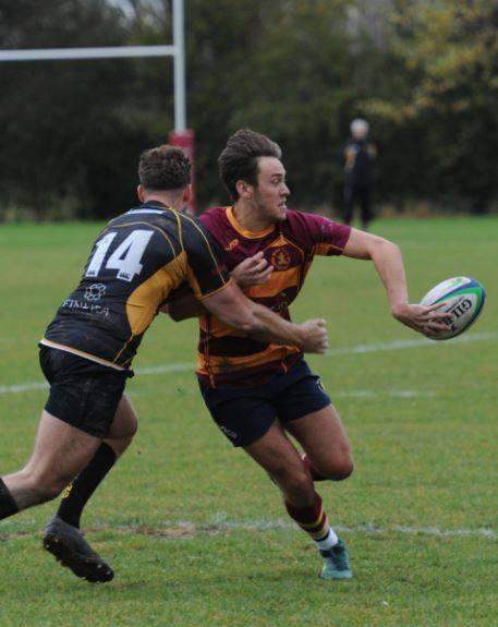 Moving on - scrum half Jake Spivey