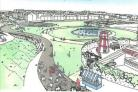 Reduced plans - the regeneration project for Canvey's seafront have been scaled back to meet the deadline