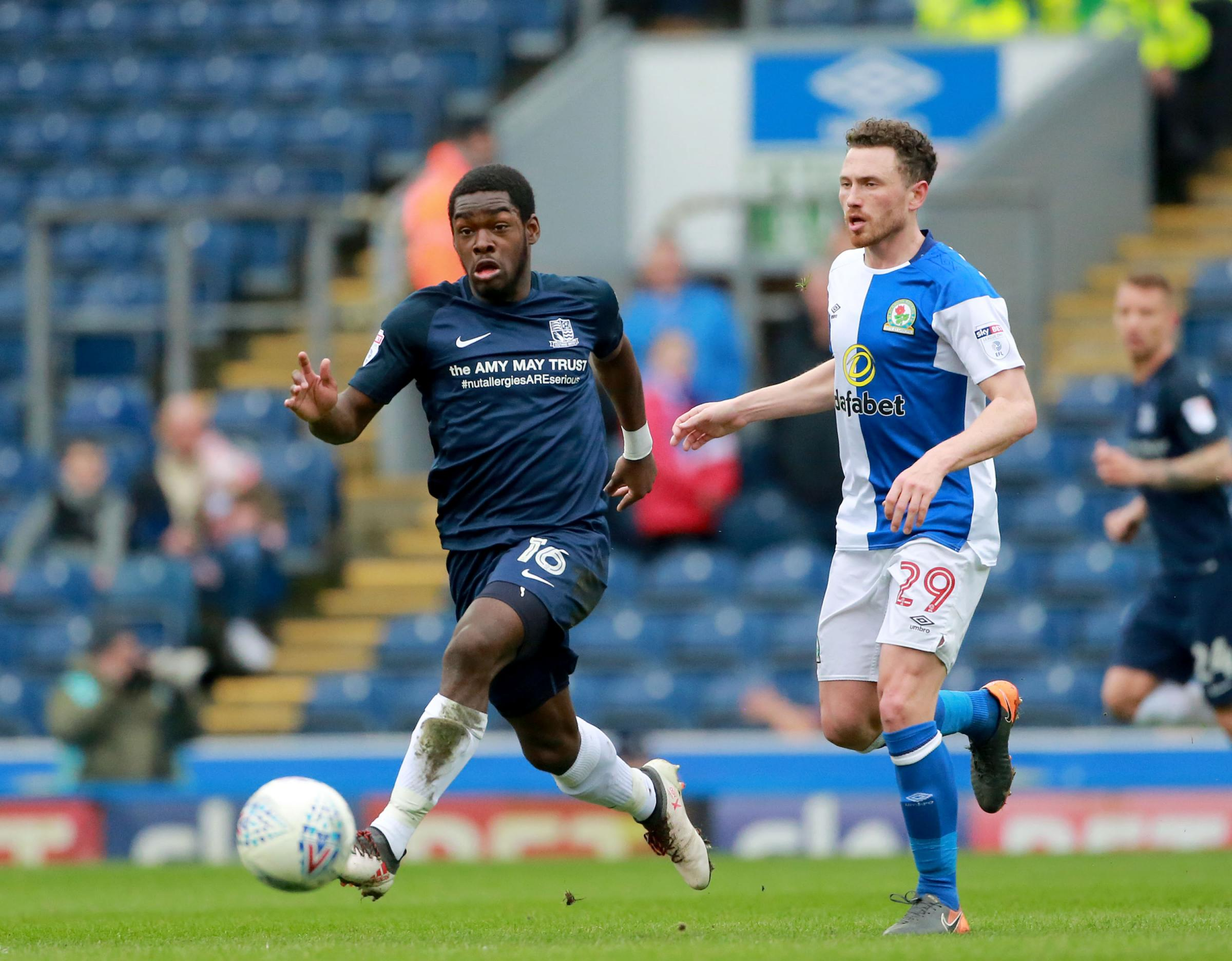 Wanting his best weekend yet - Southend United midfielder Dru Yearwood