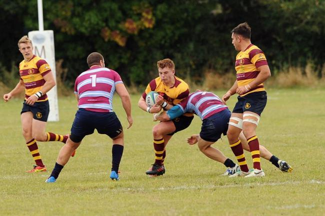 Fired up - Westcliff's Finlay Macintyre