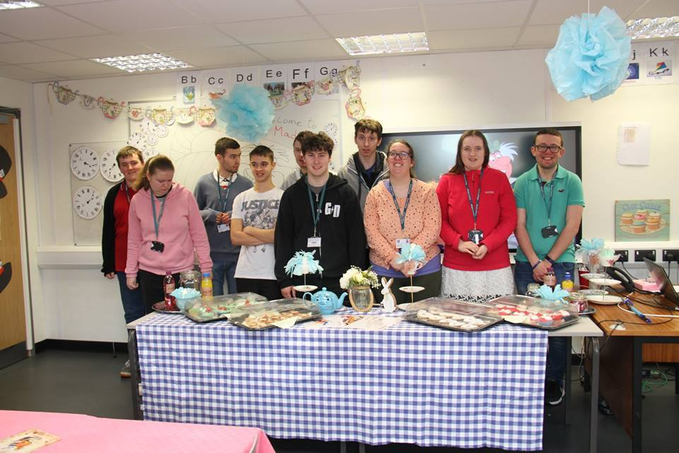 Tea - students at Seevic hosted their own tea party