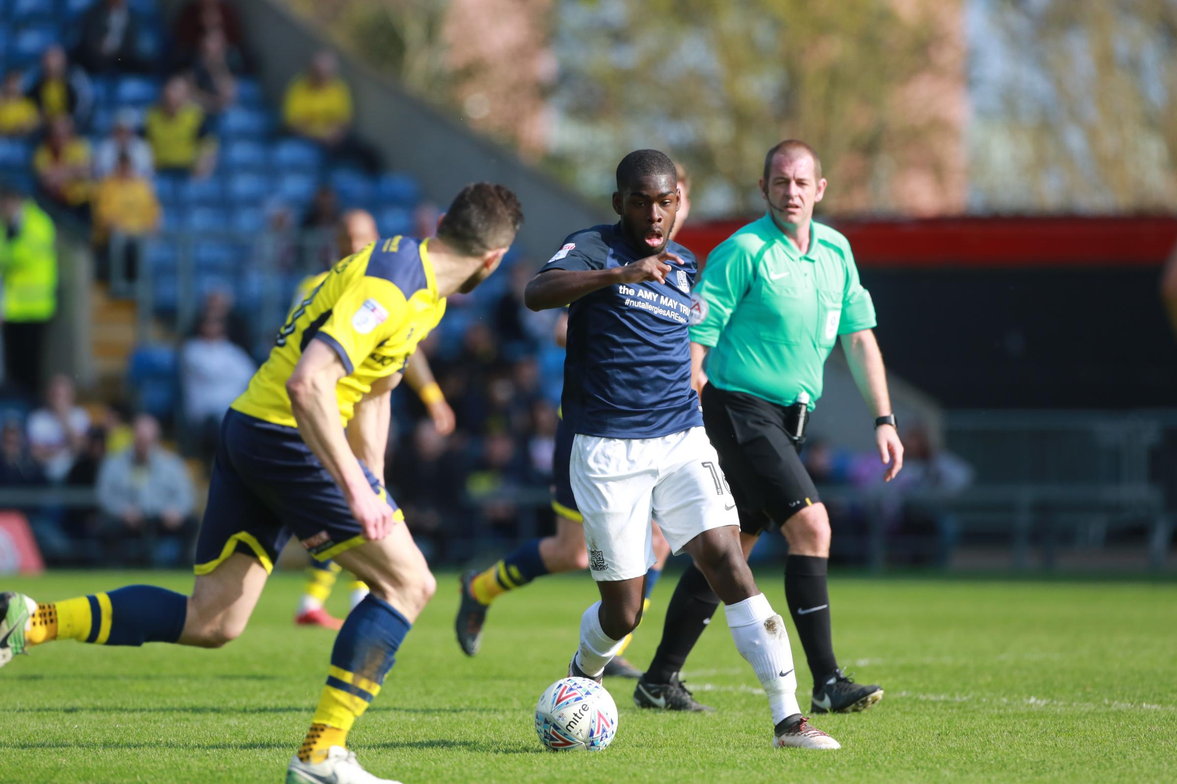 Being tracked by England - Southend United midfielder Dru Yearwood