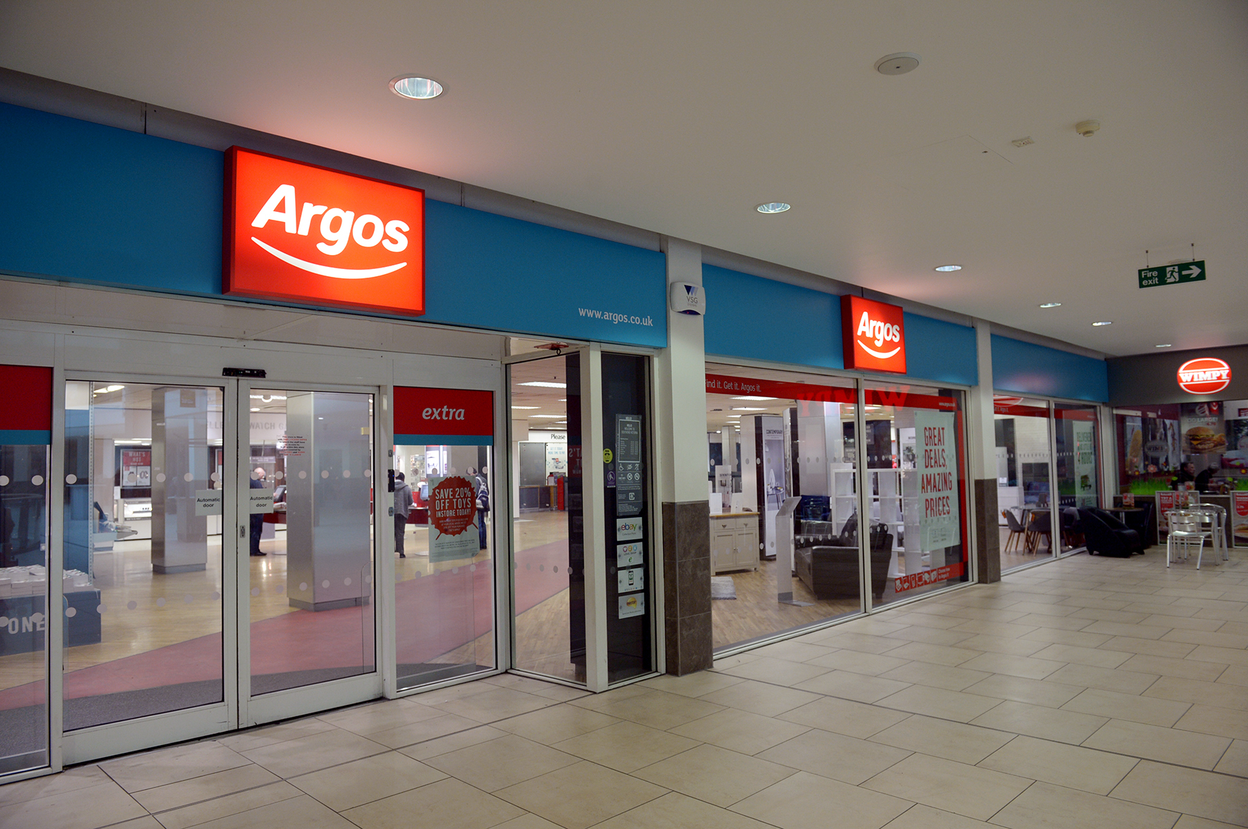 Argos, Victoria Shopping Centre, Southend.