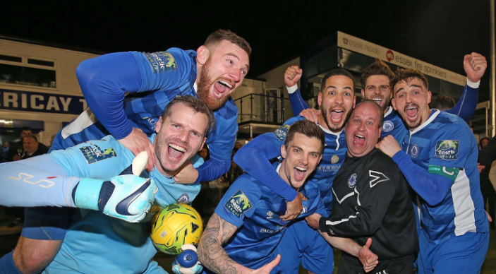 Champions - Billericay Town Picture: NICKY HAYES