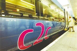 Cable theft causes c2c train disruption