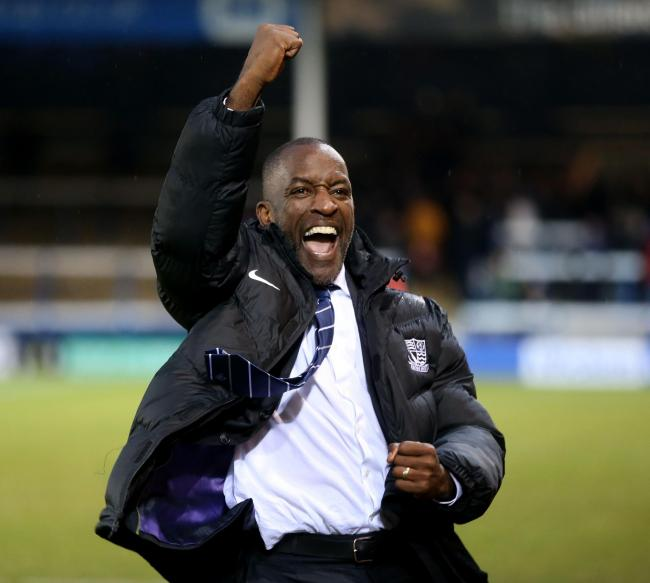 Close to making his first summer signing - Southend United manager Chris Powell