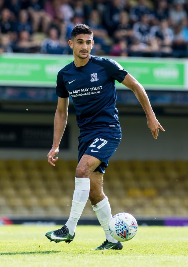 International call up - for Southend United defender Harry Kyprianou