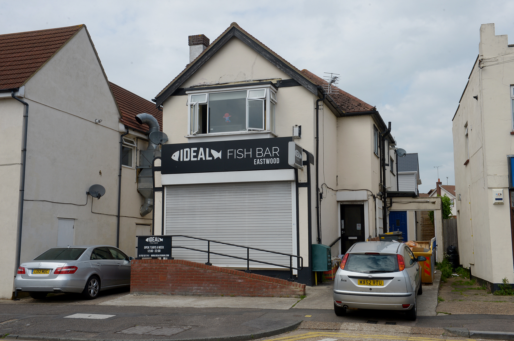 Ideal Fish Bar, Rayleigh Road, Leigh, Essex..