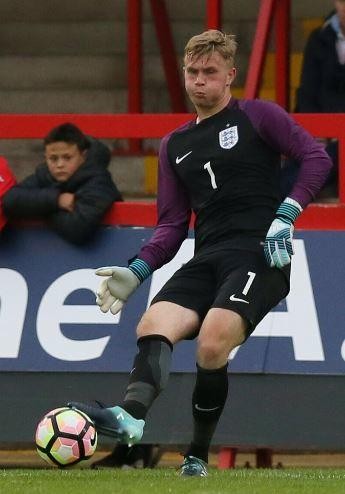 England call up - for Southend United goalkeeper Harry Seaden