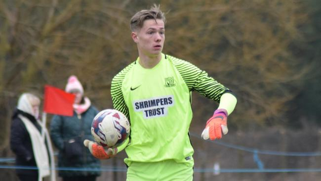 Signed a new contract - Southend United goalkeeper Nathan Bishop
