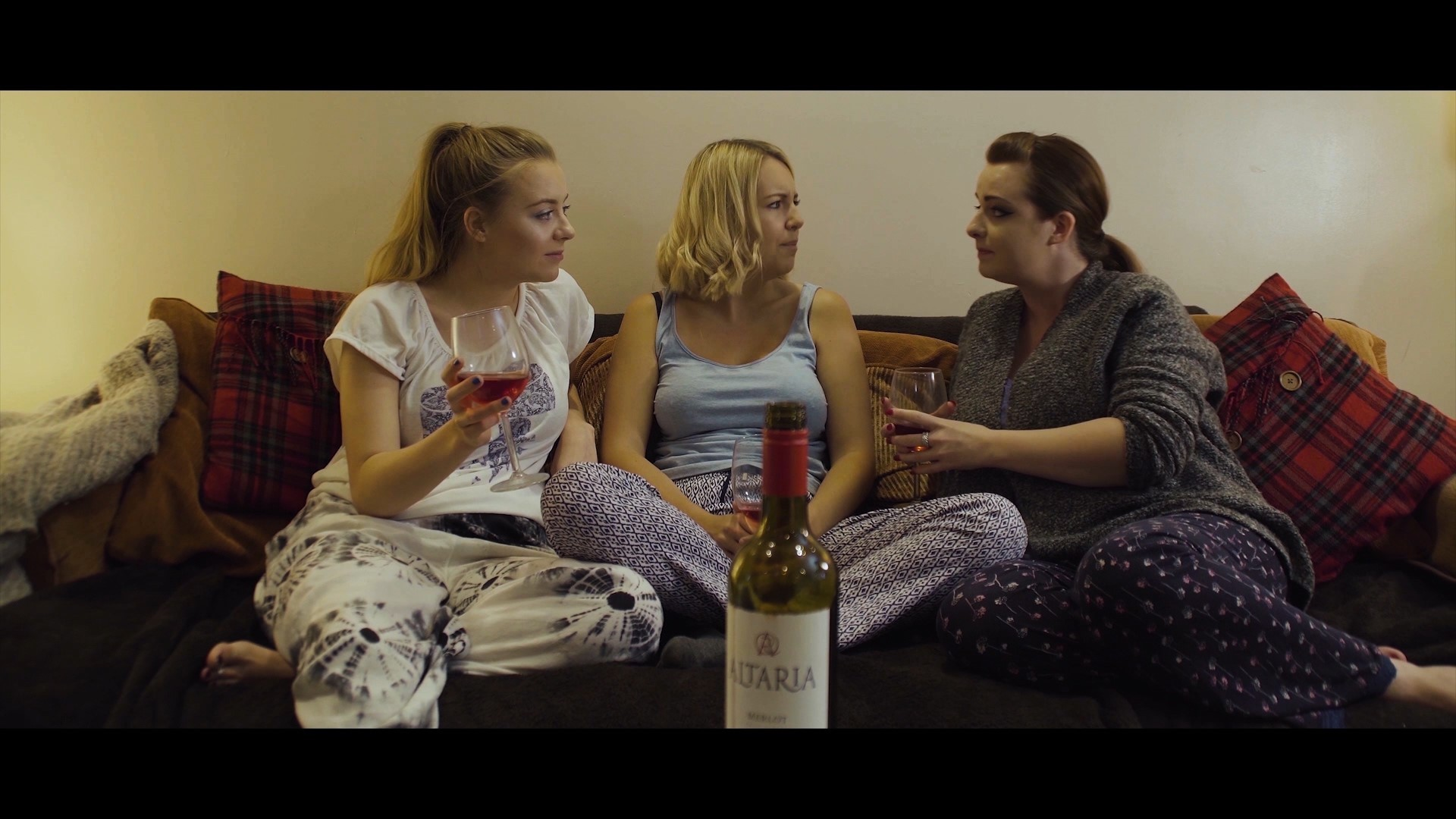 A still from James Wilsher's Sisters