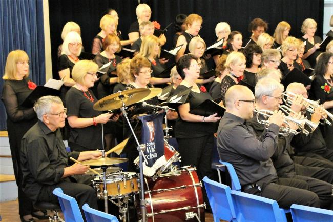 The Orpheus Singers together with Southend Wind Orchestra