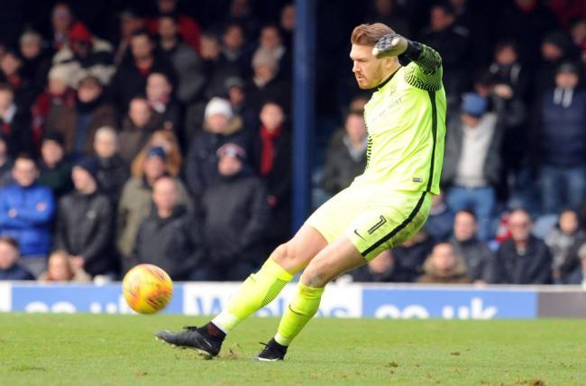 Signed a new deal - Southend United goalkeeper Mark Oxley