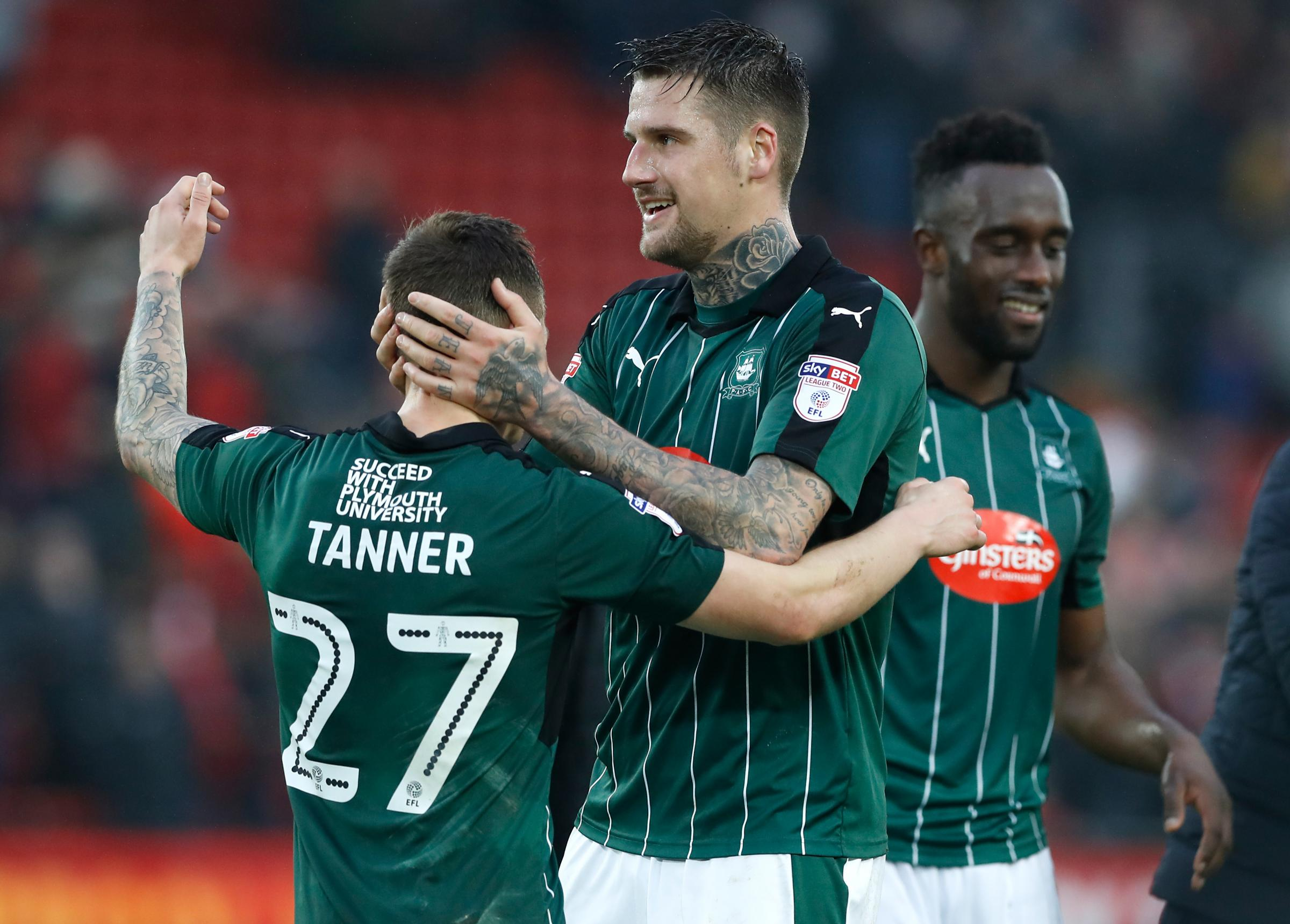 Set to join Luton Town - Plymouth Argyle defender Sonny Bradley