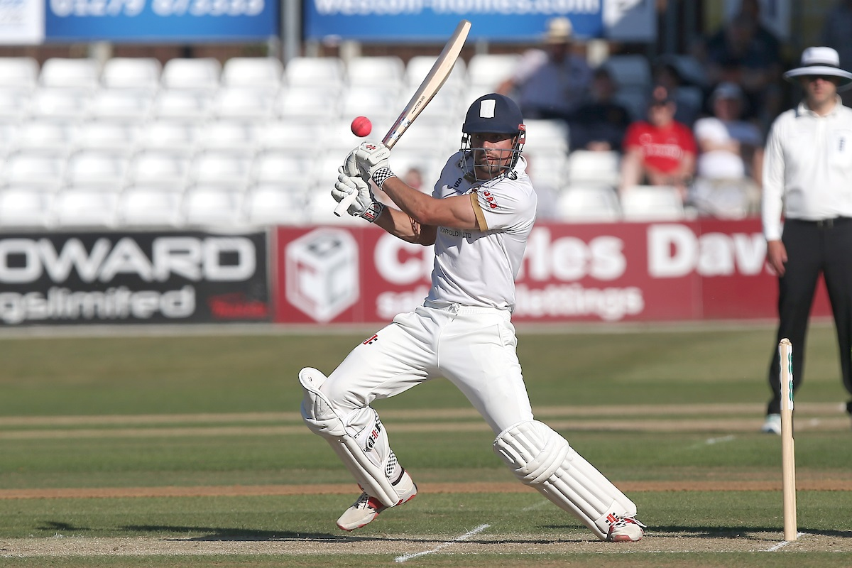 Fine innings - Alastair Cook in action on his way to making 96 for Essex against Somerset Picture: TGS PHOTO/GAVIN ELLIS