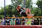 Flying high - Isobel Urand, 15, excelled for Billericay High School at the District Sports competition