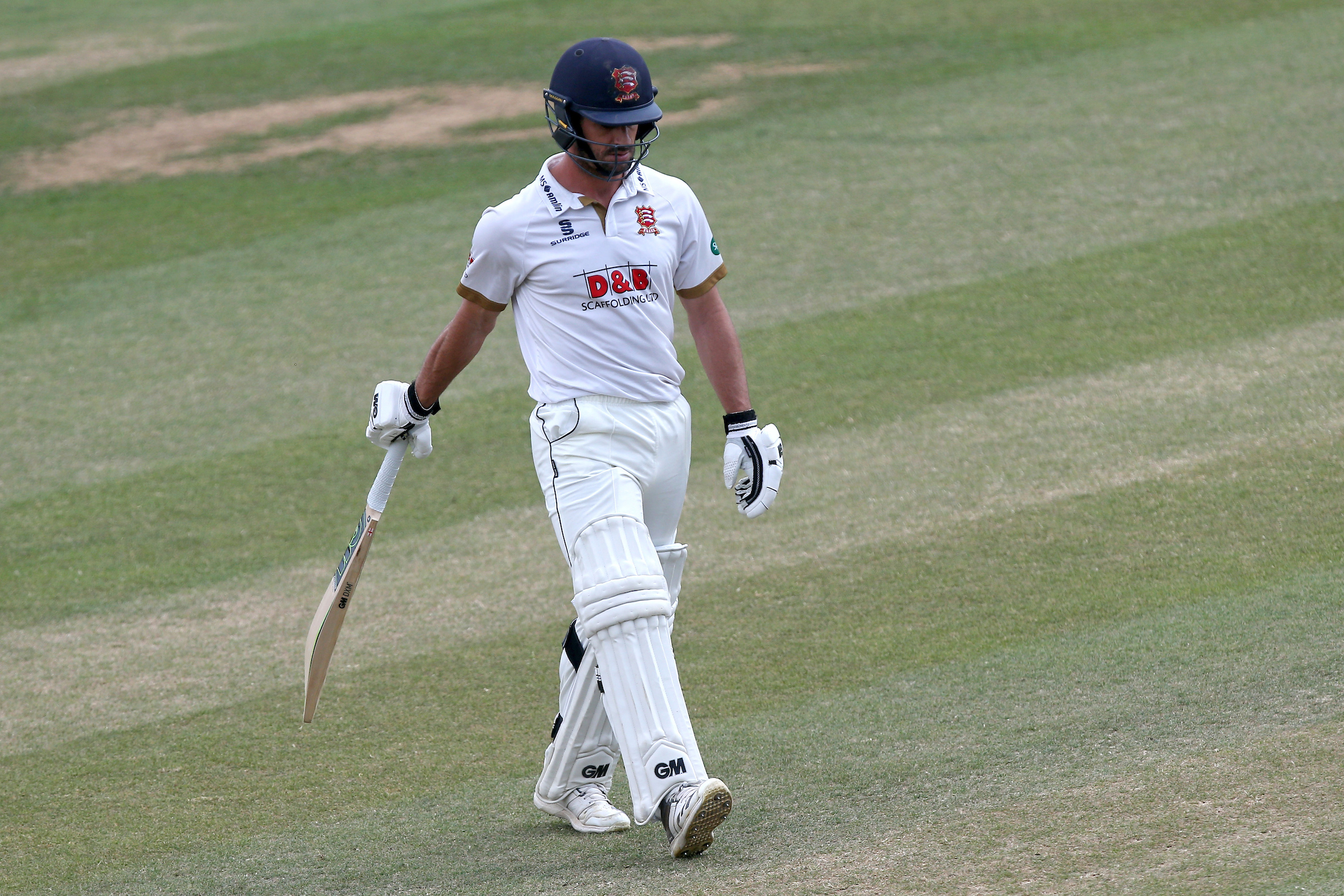 Out cheaply - Ryan ten Doeschate Picture: TGSPHOTO