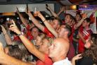 It's Coming Home: England fans celebrate at Clacton's Tom Peppers