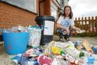 Helen Shine, Southend.Helen is trying to raise awareness about the amount of rubbish on the streets of Southend..