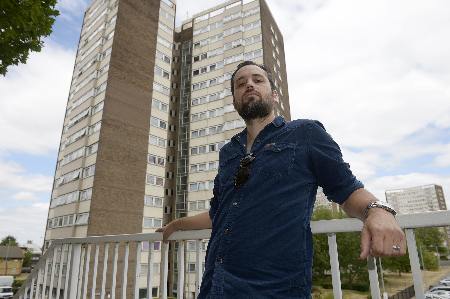 Colin Nickless .Quantock Queensway, Southend.TOWER BOCK FIRE SAFETY Southend Council and the fire service seem to be at odds over tower block safety. Southend resident Colin Nickless has been inquiring into fire safety measures in place in Southend flats.