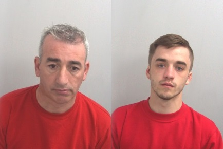 Pair jailed for 11 and-a-half years after burgling 37 homes in six weeks