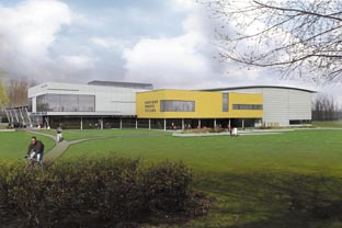 An artist's impressionof the £36m Basildon sporting village which can finally be built