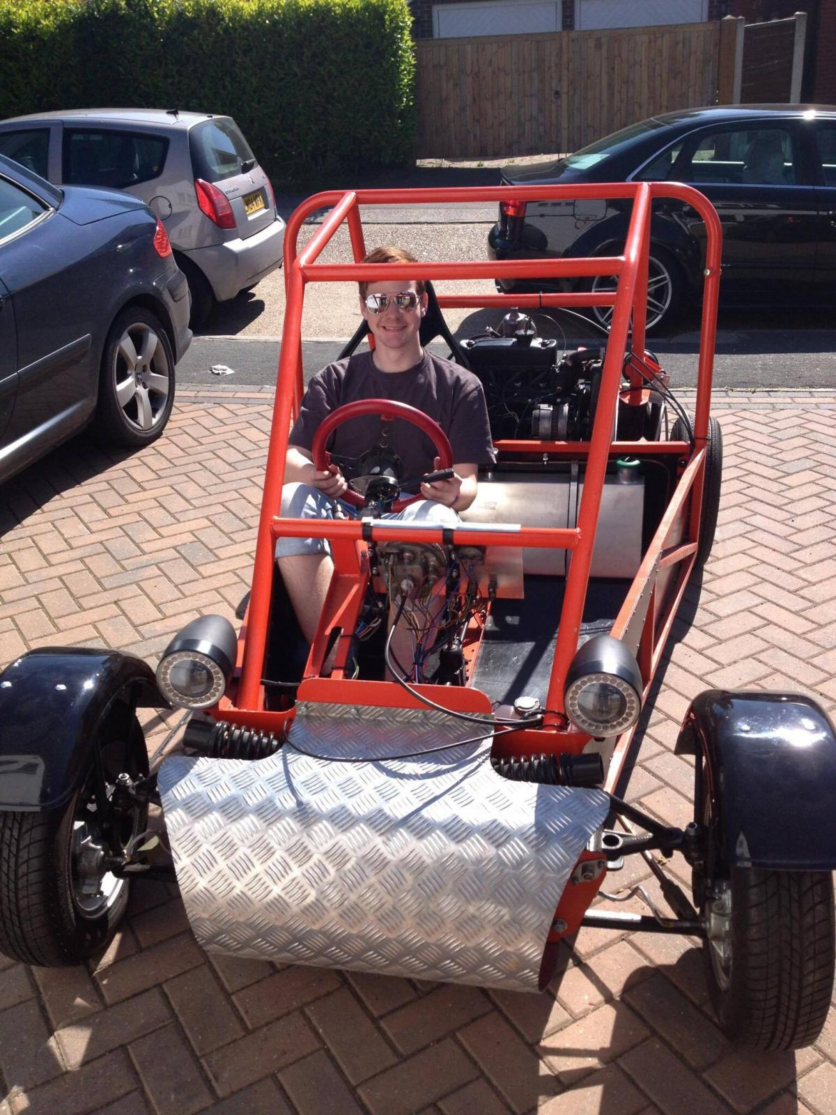 father and son gutted as kit car jaffa stolen | echo