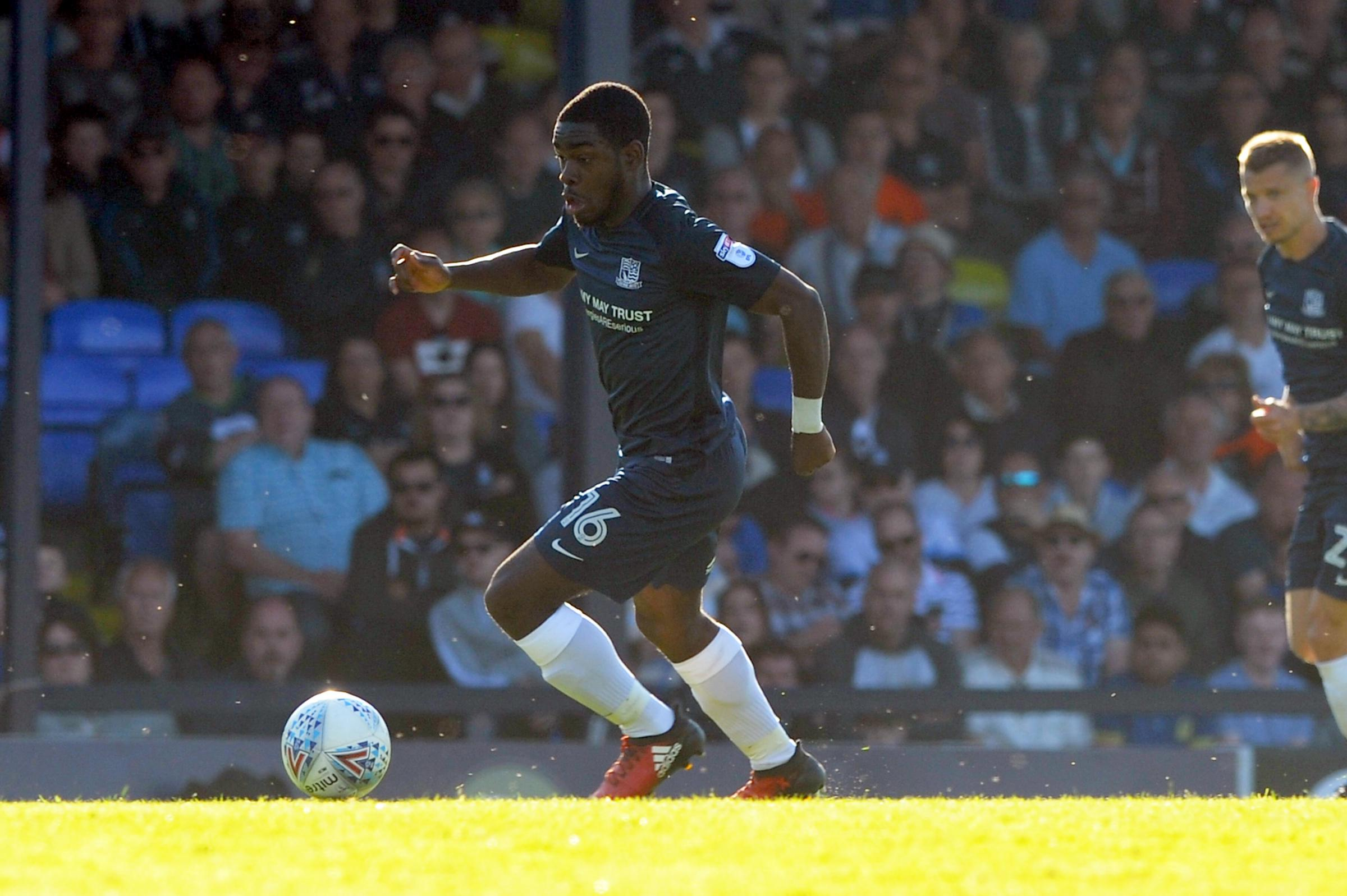 Back in full training - Southend United midfielder Dru Yearwood