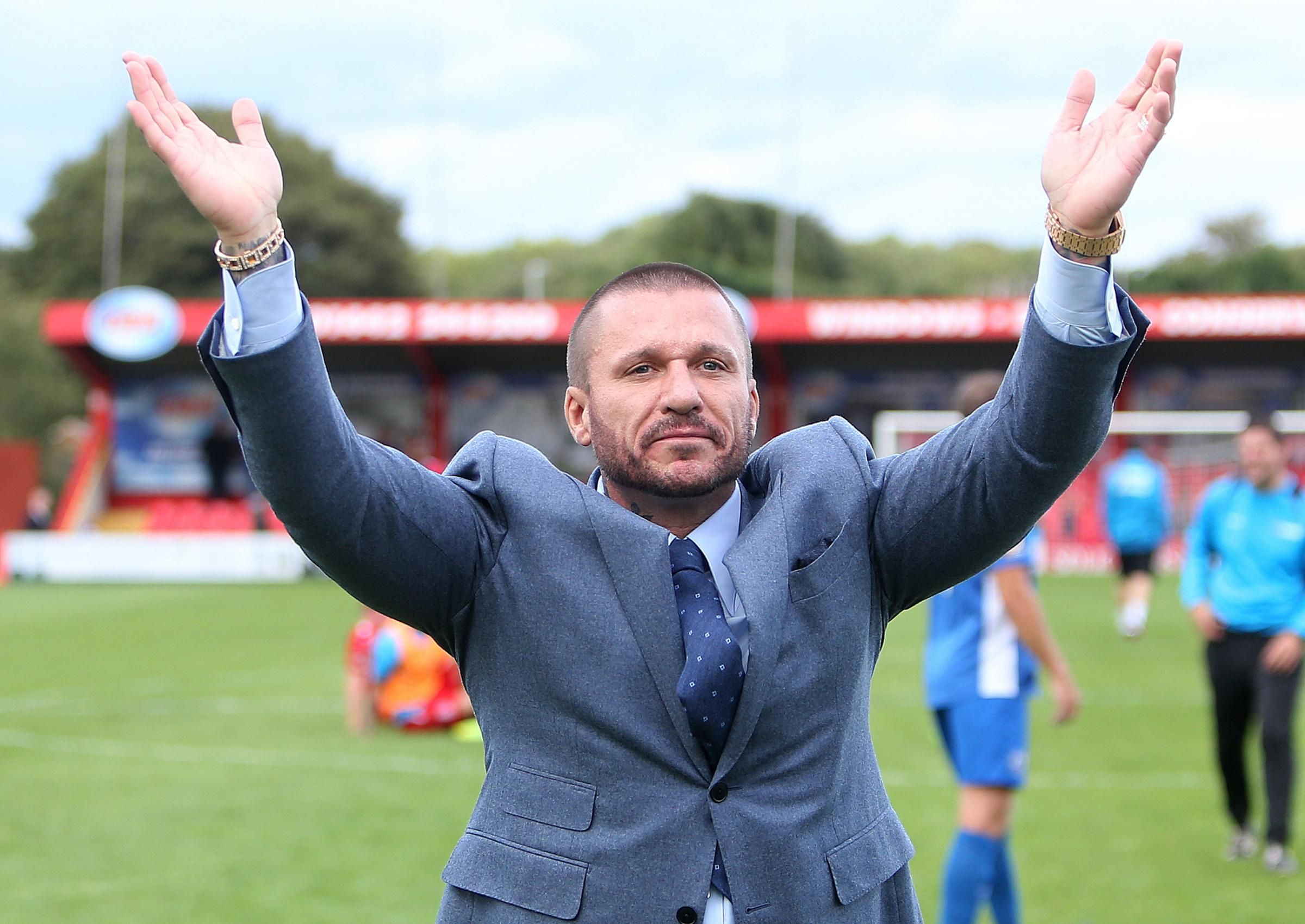 Remaining in the dugout for now - Billericay Town owner Glenn Tamplin Picture: NICKY HAYES