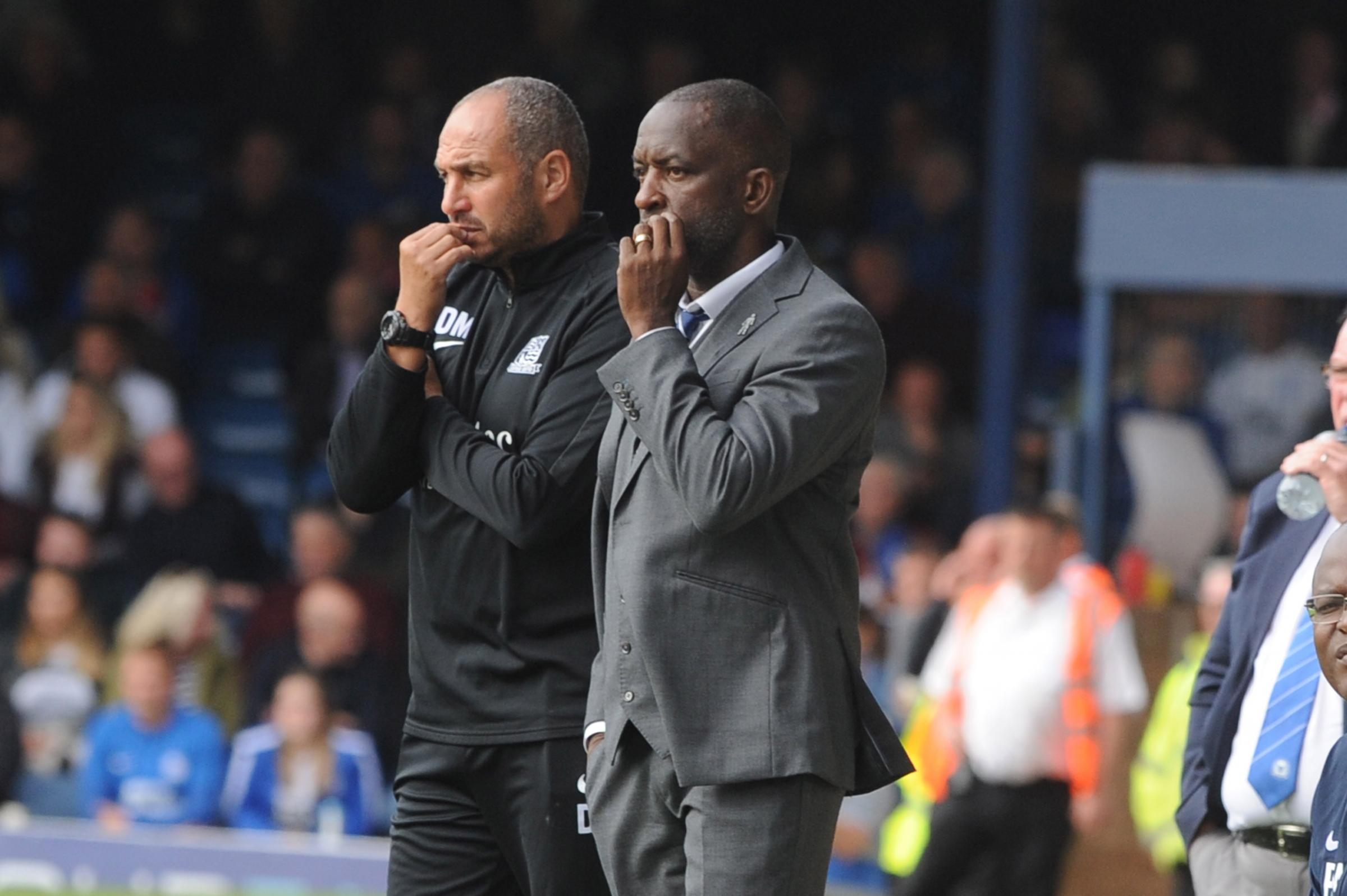 Wanting better at the back - Southend United manager Chris Powell