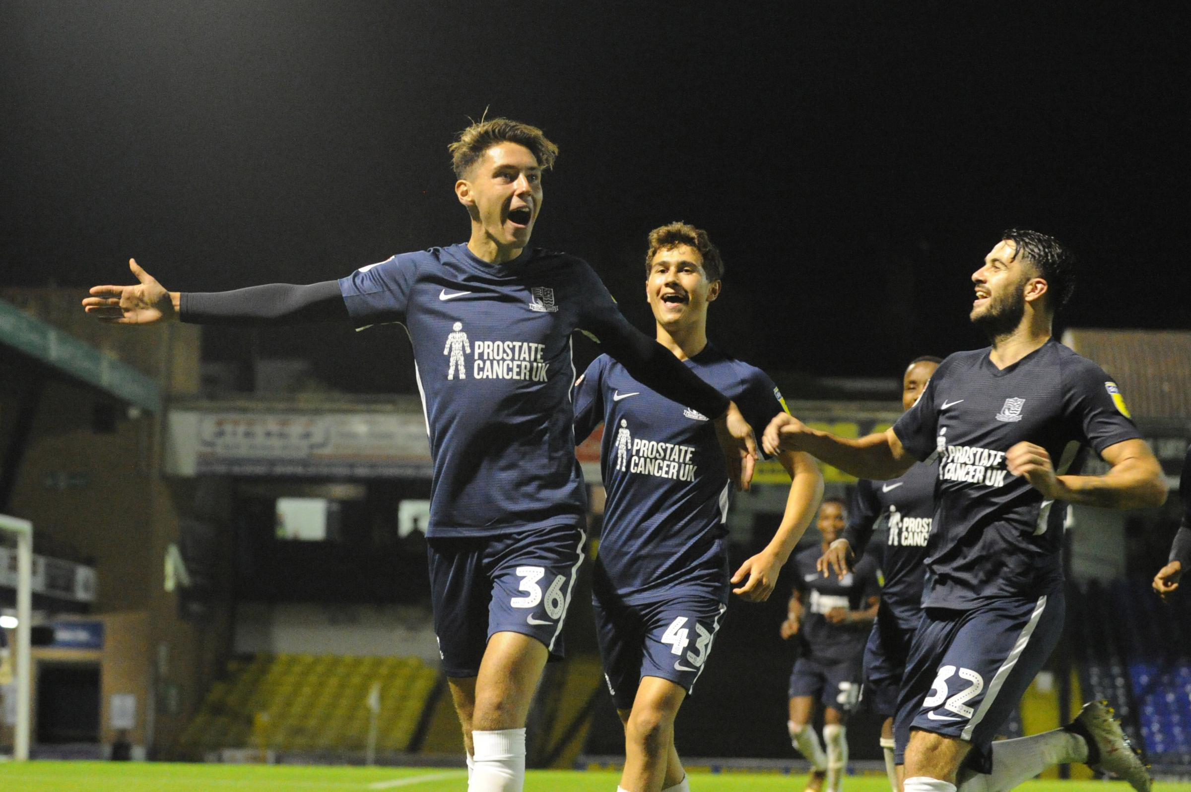 Making a good impression - Shrimpers youngster Isaac Hutchinson