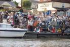 Onlookers watch the boats go by at the Maldon Town Regatta a few years ago