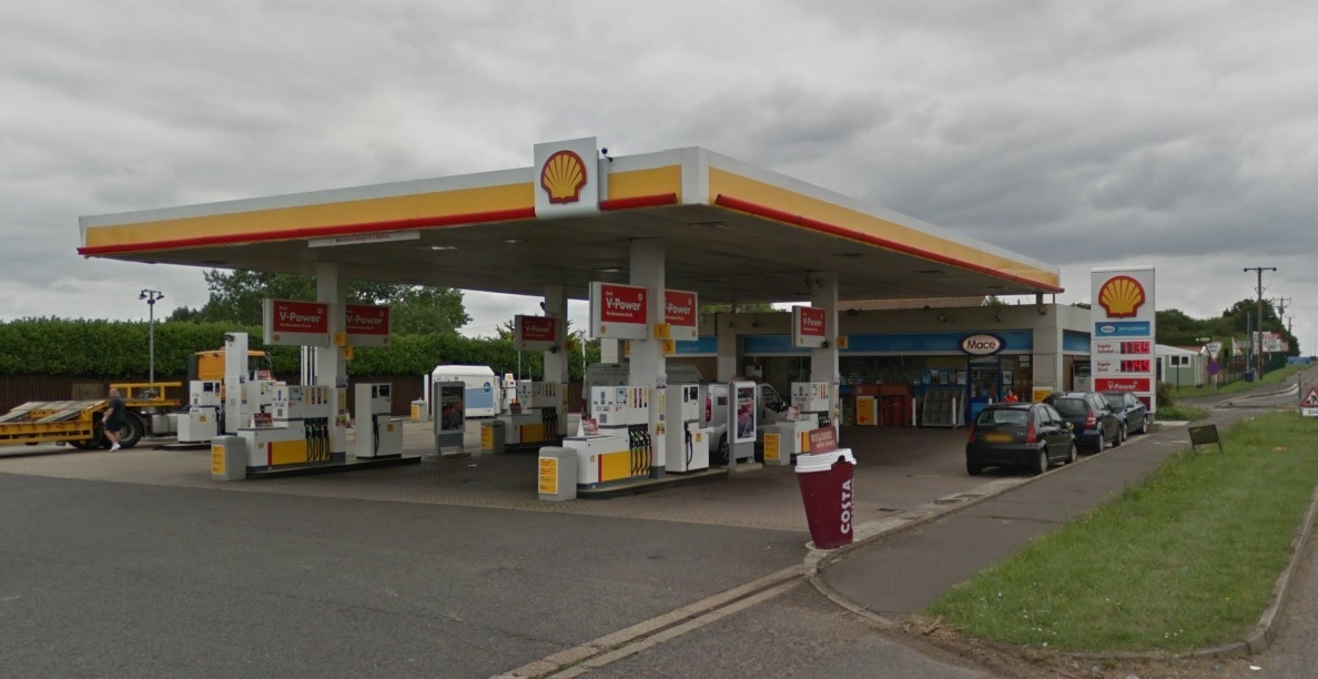 Hovefields Petrol Station