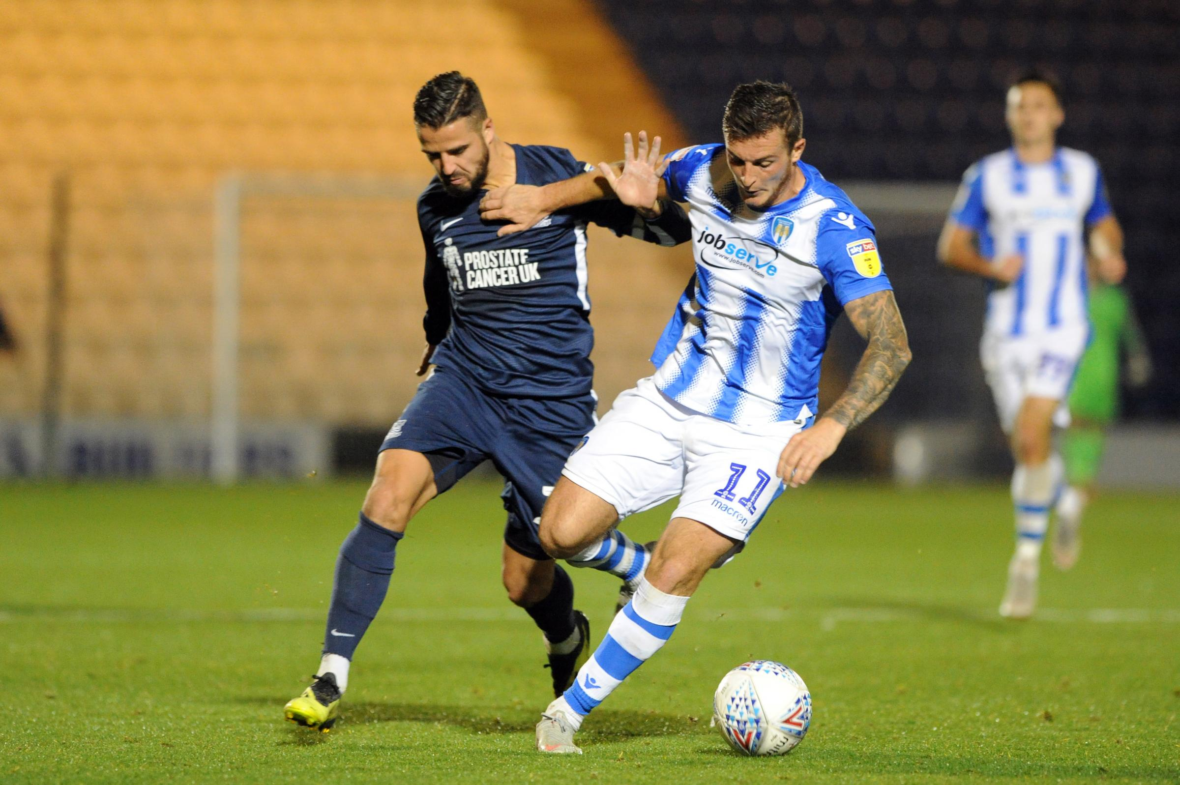 Looking to get back into the team - Southend United winger Stephen McLaughlin