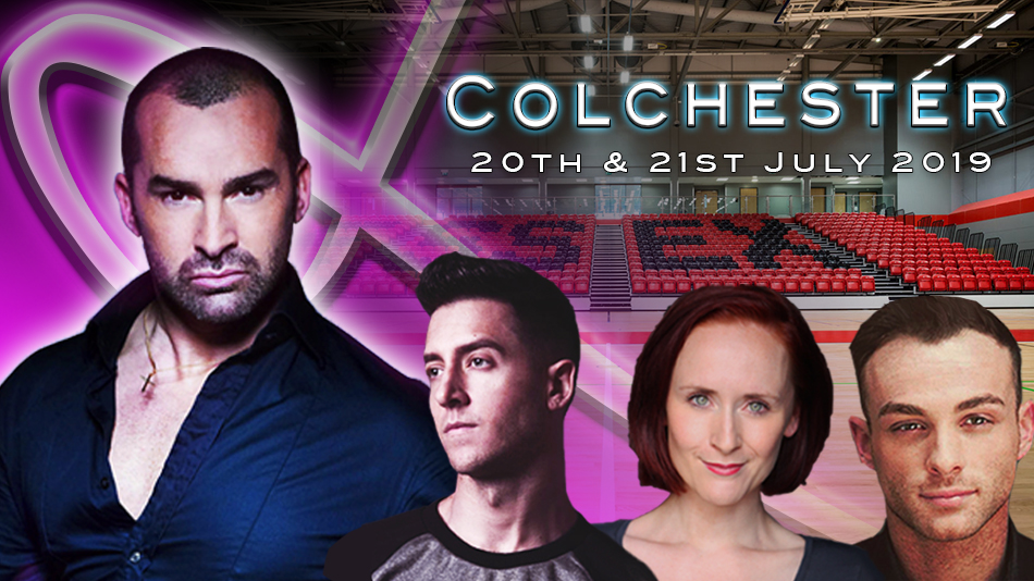 Louie Spence Masterclass UK Tour 2019 - Colchester